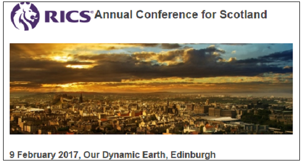 RICS Annual Conference for Scotland - 9th February 2017