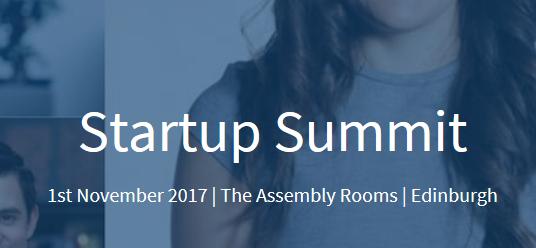 Startup Summit – 1st November 2017