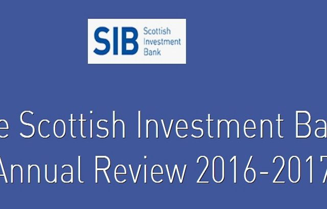 The Scottish Investment Bank Annual Review 2016-2017 released