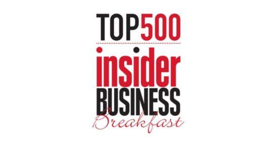 Scottish Business Insider Top 500 Business Breakfast
