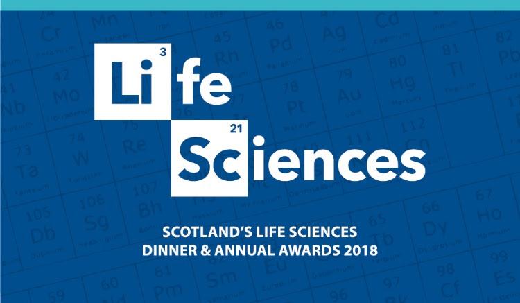 Scotland's Life Sciences Awards 2018 - Awards Shortlist Announced